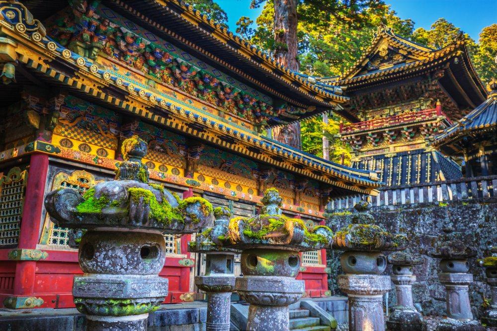 De heilige pelgrimsstad Nikko