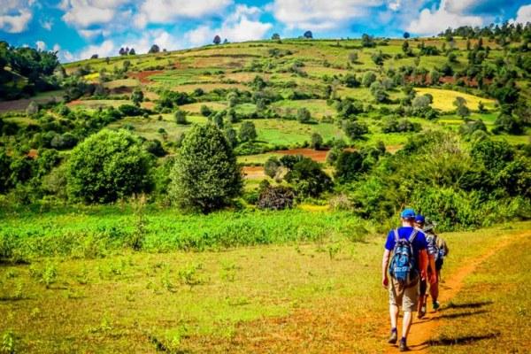 Trekking in Kalaw