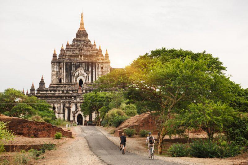 De tempels van Bagan