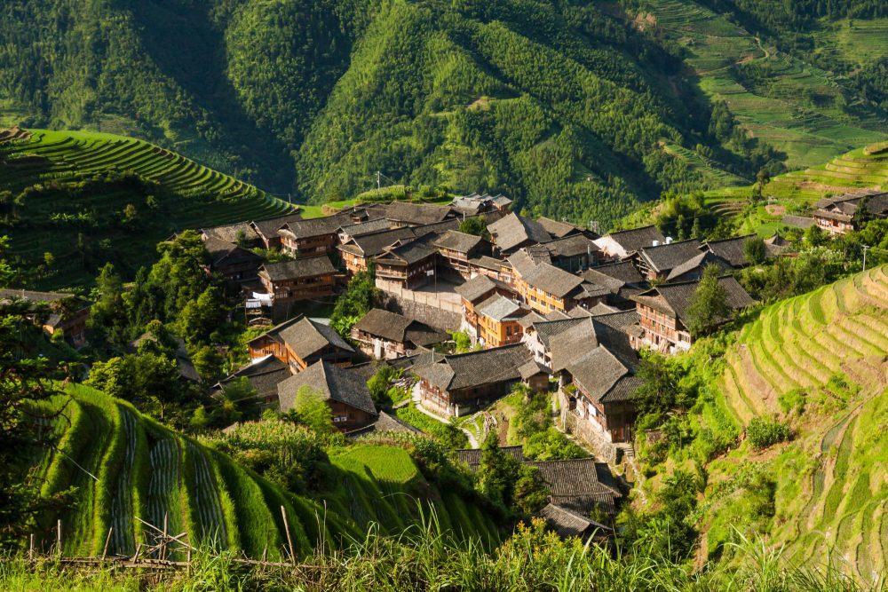 Drakensrug rijstvelden van Longsheng