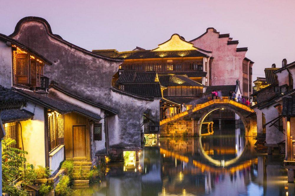 Traditioneel Waterdorp Wuzhen