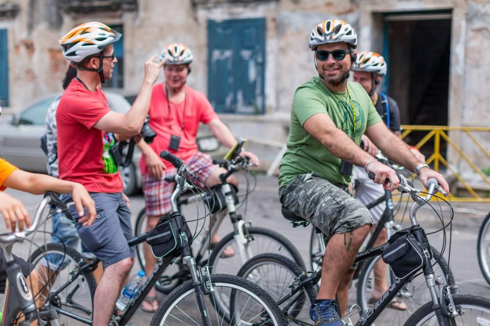 Beleef Bangkok per fiets