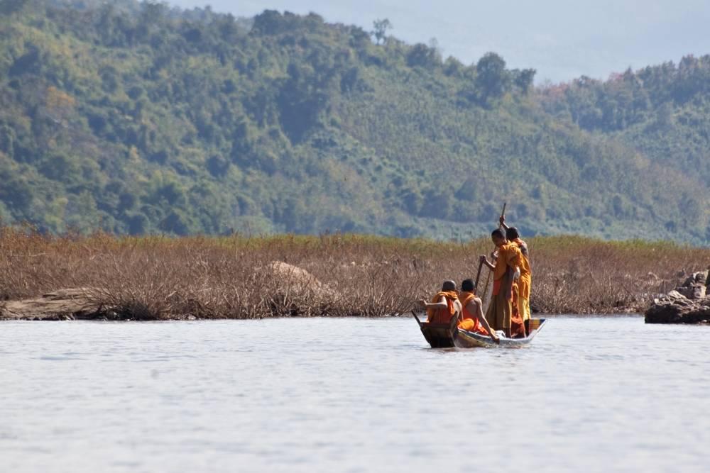 Over de Mekong naar Laos