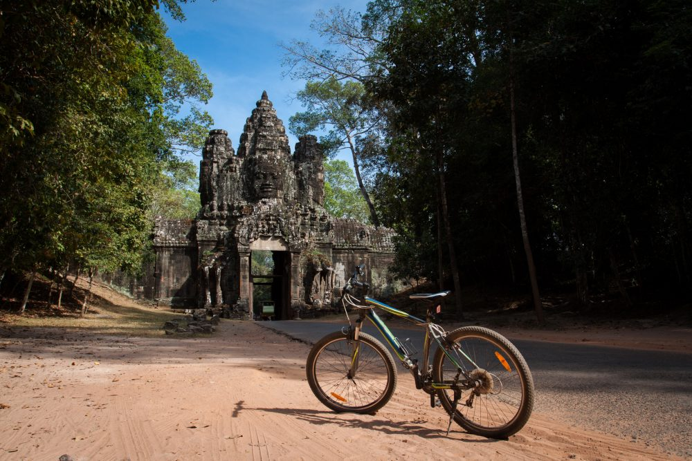 Angkor Wat per fiets