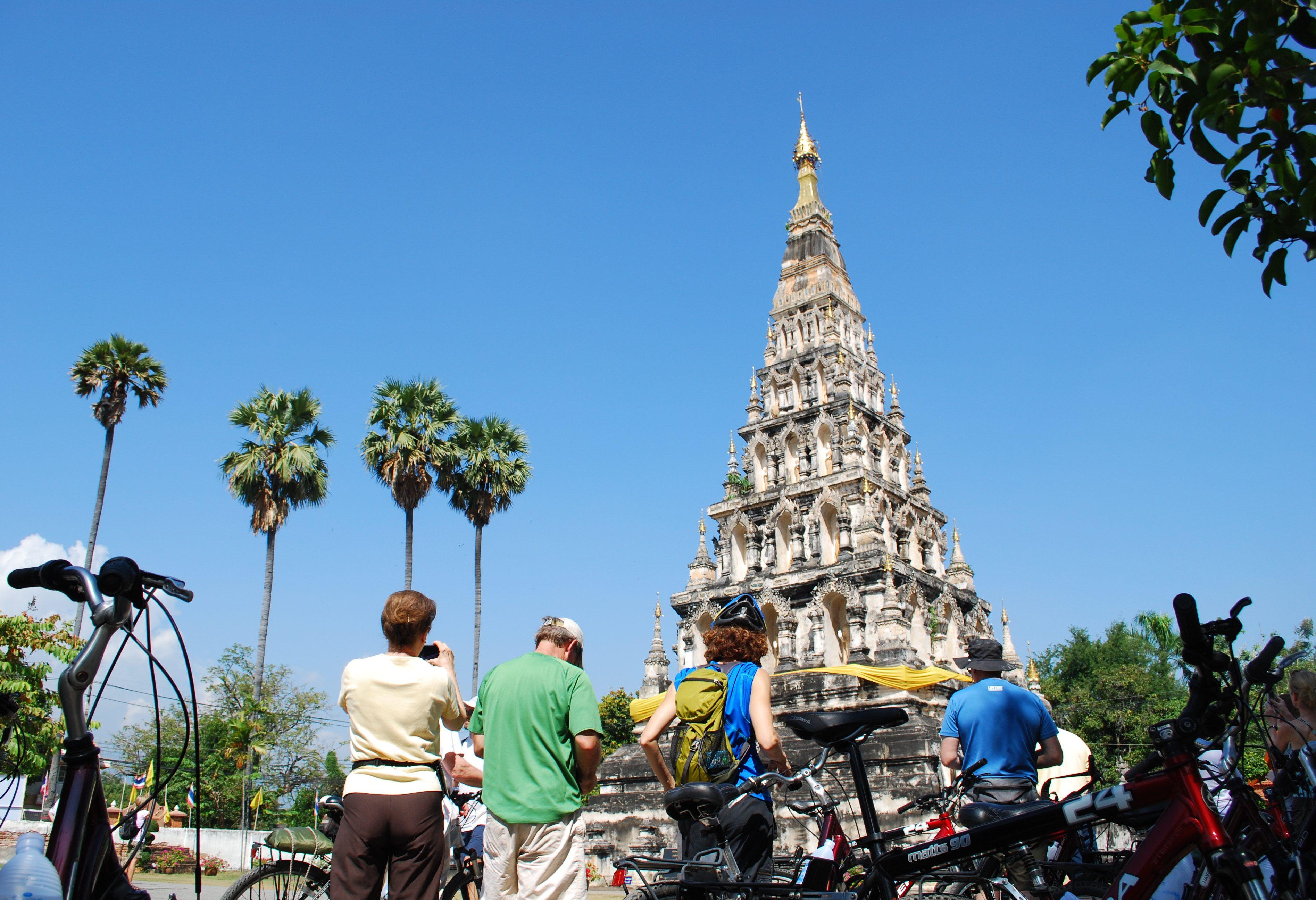 Optionele excursie Fietsen in Chiang Mai, Thailand