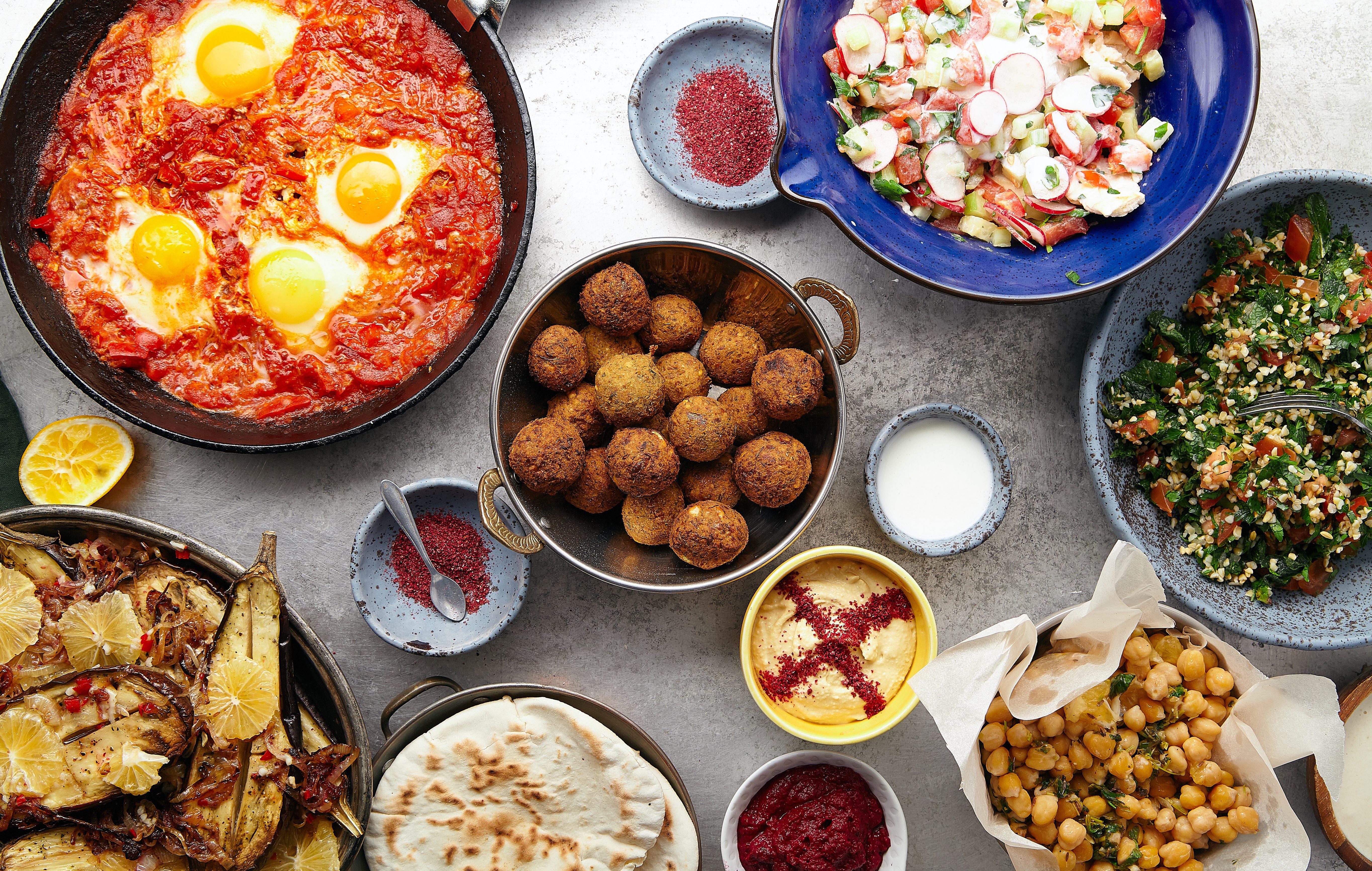 Lokale gerechten in Israël