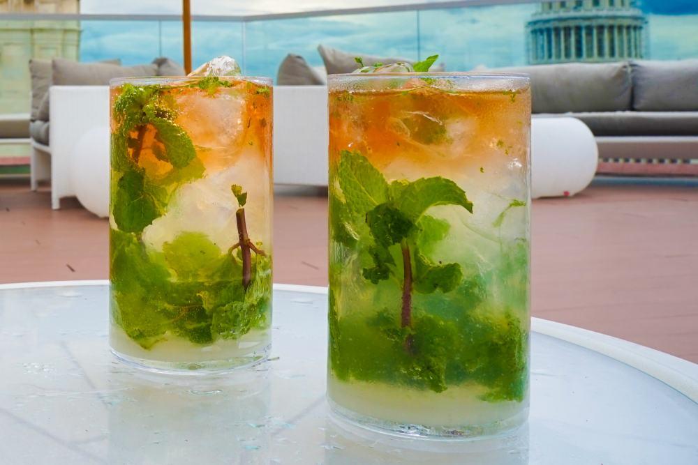 Cocktails shaken in Havana